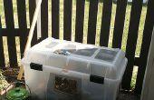 Bac à compost simple et pas cher !