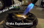 Comment : Changer les sabots de frein tambour Dirt Bikes