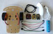ESP8266 et Visuino : télécommande WiFi Smart voiture Robot avec Wii Nunchuck