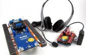 Projets des Carlitos : Sans fil discours contrôlé par Arduino Robot