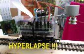 Raspberry Pi se déplaçant timelapse