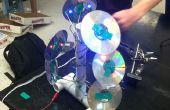 Artistique USB LED lampe de CD