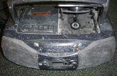 Ajouter une ligne dans à une boombox avec un lecteur de cassettes