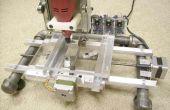 Facile à construire Desk Top 3 Axis CNC fraiseuse