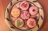 Comment rendre facile et sans cuisson au four, des biscuits au chocolat plongé