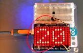 Un thermomètre Arduino avec affichage numérique