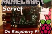 Serveur Minecraft sur Pi framboise 1.8.9