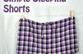 Shorts de couchage simple