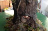Illuminant la forêt fantôme Low-Cost recyclage le masque faisant tutoriel