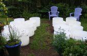 Le jardin de tambour de 55 gallons : nous avons les tambours, que devons-nous faire maintenant ?