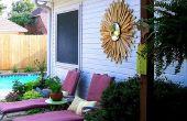 Brillantage soleil pour la décoration de la maison