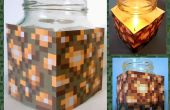 Bougie de cire d'abeille facile Minecraft Glowstone