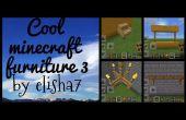 Cool 3 meubles Minecraft