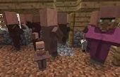 Comment faire des villageois dans Minecraft !