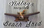 Vintage recyclés cabanon plage