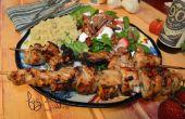 Brochettes de poulet balsamique & Honey