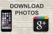 Comment faire pour télécharger des photos depuis Google Plus sur Mobile App