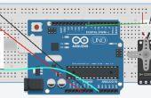 Alarme avec Arduino + pir + badge rfid + servo moteur + nfc