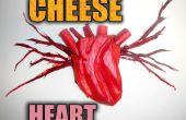 Faire un coeur de fromage réaliste