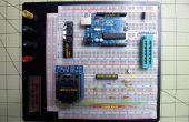 Graver le Arduino Bootloader Atmega 328 TQFP et DIP les puces sur maquette