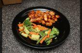 Poulet chinois orange