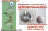 Lunettes de vue/Badge magnétique bricolage titulaire