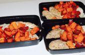 Préparation des repas sains et abordables 101