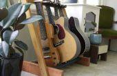 Stand guitare bois