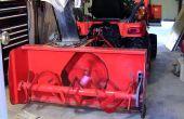 Comment installer souffleuse à neige tracteur