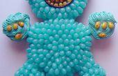 Facile Monster Cupcake Cake