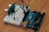 Arduino simple et HC-SR04 exemple