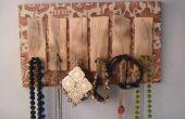 Cintre de bijoux DIY