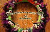 Couronne de nouveauté Halloween monstrueux