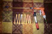 Pistolet à air comprimé fait maison