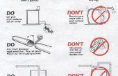 Comment nettoyer un évent de sécheuse de vêtements