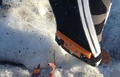 Hiver la preuve toute chaussure - à l'aide de pointes de Traction bricolage
