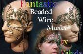 Fantastique perlé fil masques