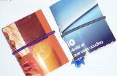 Transformer votre carte de voeux dans un cahier