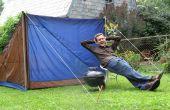 La tente parfaite proche : Concevoir et construire une tente recyclé
