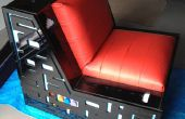 Pacman ultime / Space invaders jeux chaise avec haut-parleurs