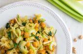 Salade de pois chiche en bonne santé avec Apple & céleri