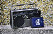 Comment faire revivre un lecteur de cassettes 8 pistes portable