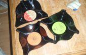 Comment faire un bol/frisbie sur un vieux disque