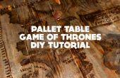Jeu de Table palette de trônes - DIY tutoriel