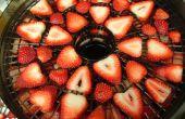 Déshydrater des fraises