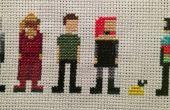 Farscape Cross Stitch : Saison trois personnages (Moya)