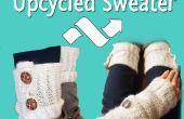 Upcycled Sweater - à bras/jambières w/téléphone Pocket