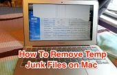 Comment faire pour supprimer les fichiers temporaires pour libérer de l'espace de Mac