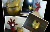 Iron Man Gauntlet lampe de bureau + plaque frontale