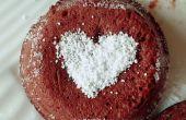 Gâteau de lave en fusion au chocolat